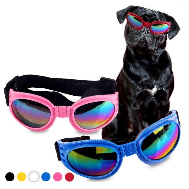 Nuevo atractivo perro mascota gafas de sol gafas de protección para el desgaste de los ojos vestido Multi-Color a prueba de agua Boom genial para gafas
