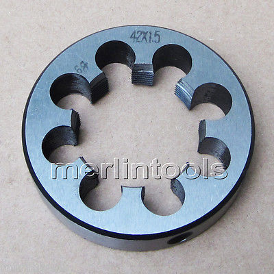 42mm x 1.5 Metric Right hand Thread Die M42 x 1.5mm Pitch 52mm x 2 metric right hand thread die m52 x 2 0mm pitch