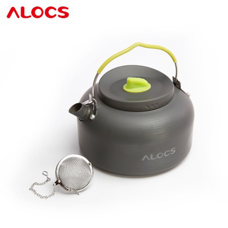 ALOCS 1.4L outdoor coffee pot Alocs teapot with a tea strainer / kettle / CW-K06
