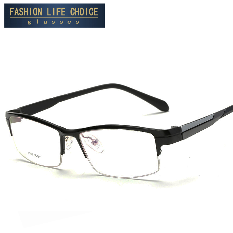 sports frames glasses l1ep  Sports Eyewear Aluminum Magnesium Myopia Glasses Frame Comfortable  Slip-resistant Half-rim frame eyeglasses