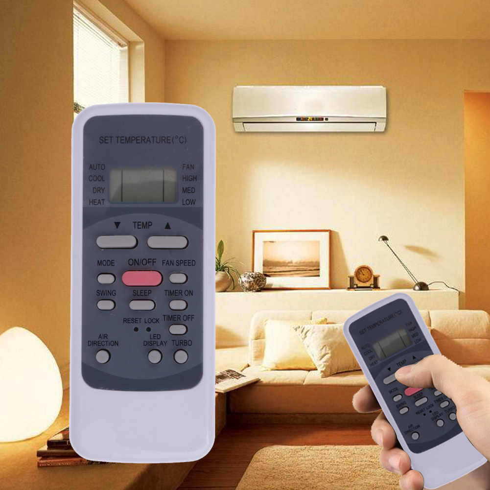 Fernbedienung für R51/BGE Tragbare Midea Split Klimaanlage Fernbedienung für R51M/E R51/E r51/CE R51M/CE R51D/E R51M/BGE