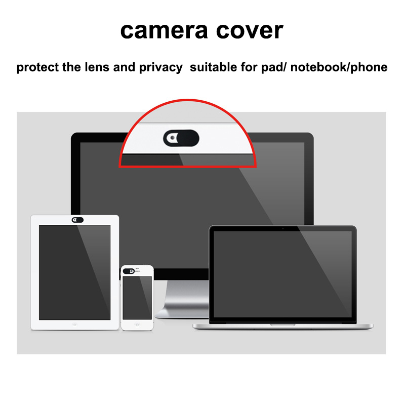 3Pcs Universal Webcam Lens Cover Privacy Protection Camera Block Stickers for Laptop Computer Smart Phone Antihacker Voyeur image