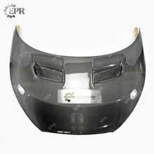 Carbon Vented Hood For Hyundai Veloster (Type F) Carbon Fiber Vented Hood Body Kits Tuning Trim Accessories For Veloster for hyundai veloster carbon fiber gear surround stick on type in stock