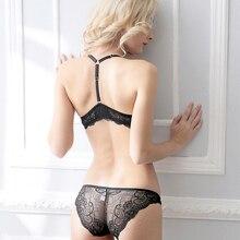 Ladies Secret Sexy Lace Bra Brief Set Push up Women's Underwear Set Padded Bra Luxury Lingerie Panty Floral Intimates Brassieres