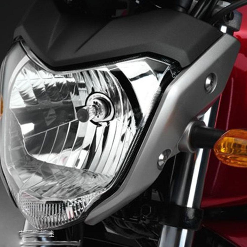 Envío gratis ZSDTRP Negro Rojo Azul gris Motocicleta faro luz faro - Accesorios y repuestos para motocicletas - foto 2