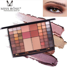 MISS ROSE new multi-color nude color cosmetics eye shadow tray blush powder cosmetic makeup box