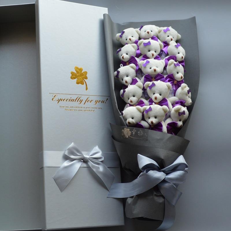 NEW Handmade Wedding Bridal Bouquet Soft Plush Toy Bouquet