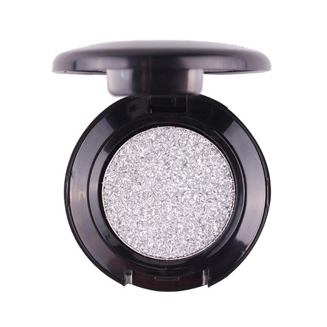 Miss Rose Glitter Diamond Eyes Eyeshadow Palette Single Color Shining Metallic Shimmer Pigments Eye Shadow Waterproof