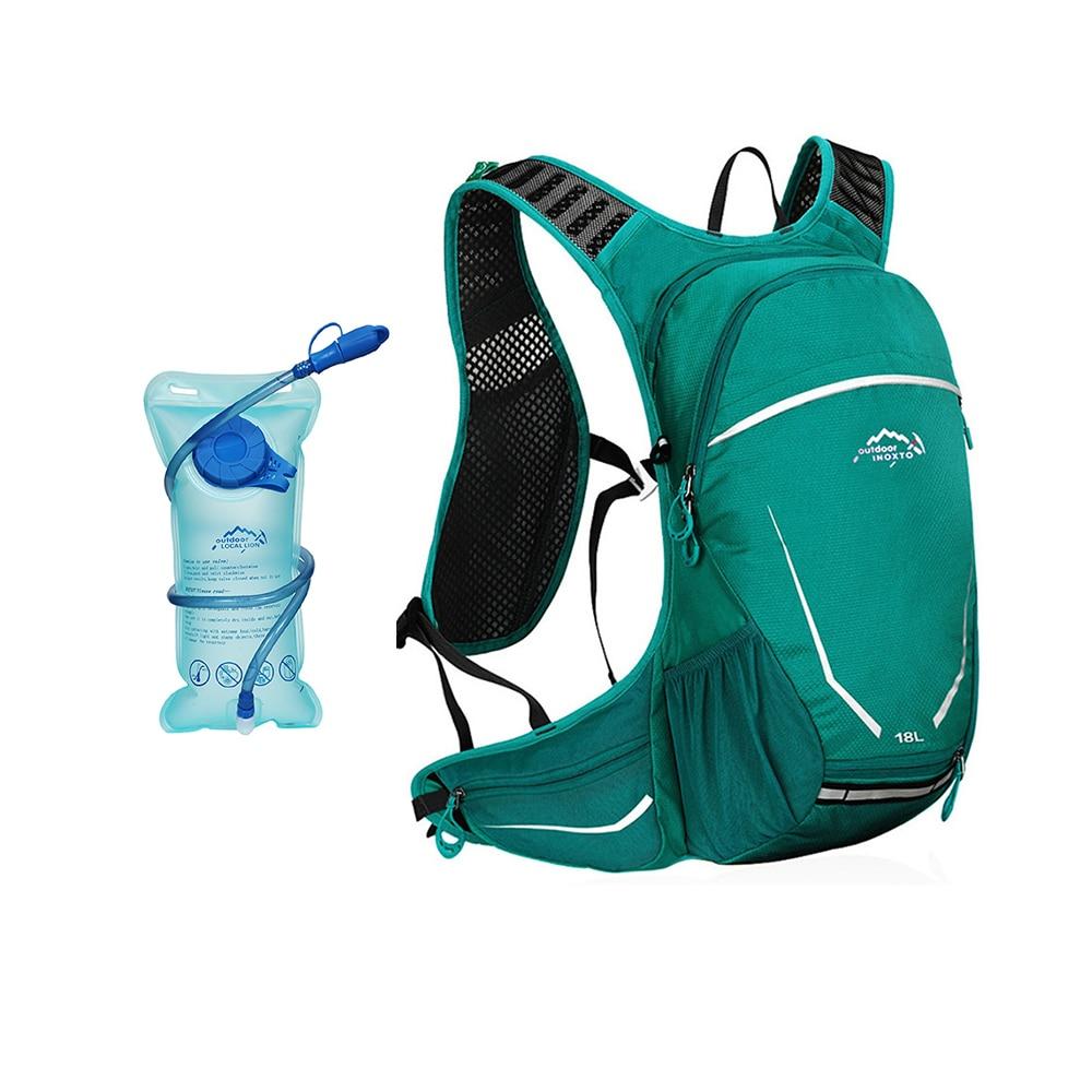 18L Cycling Bags with 1L Water Bag Hydration Bladder Bag Riding Water Supply zaino MTB Bike