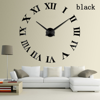 2016 Sale Wall Clock Clocks Reloj De Pared Watch 3d Diy Acrylic Mirror Stickers Quartz Modern
