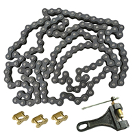 Motorcycle Chain 530 140L Chain Breaker &Chain Master Link Fit ATV Quad Pit Dirt Bike With 1 Master Link