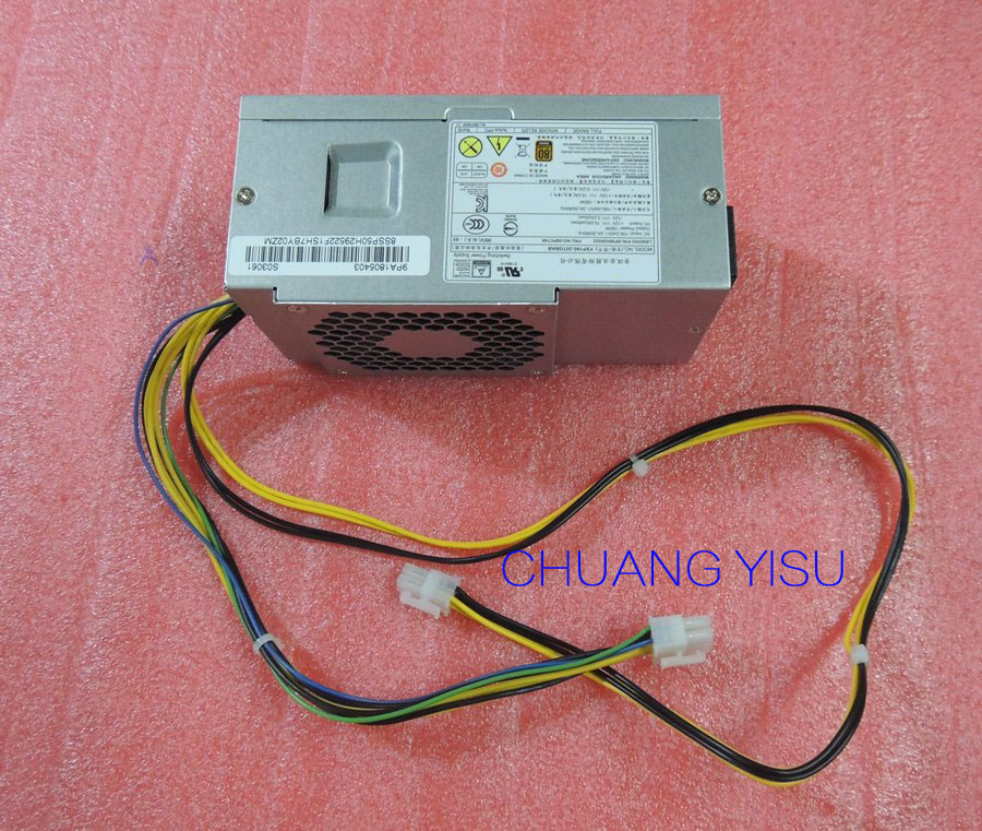 Free shipping CHUANGYISU for original M710s M910s V520 power supply 00PC745 SP50H29522 SP50H29523 10 4pin 180W
