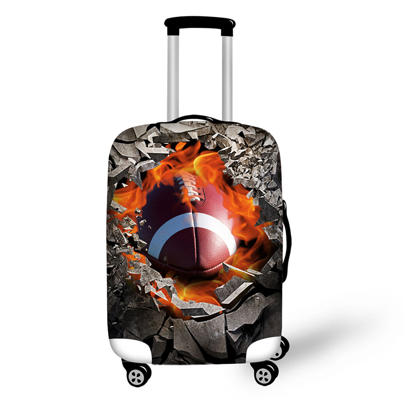 Gravel hole travel accessories suitcase protective covers 18-32 inch elastic luggage dust cover case stretchable Waterproof