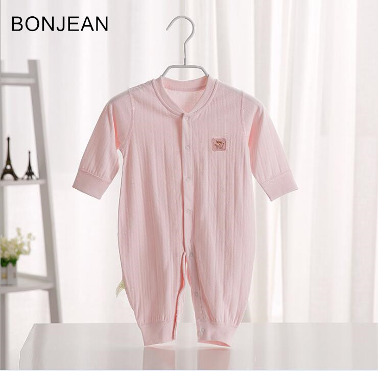 2018 Baby boby clothing Bodysuits three Pieces cotton printed jumpsuit lb50 for baby boys and girls