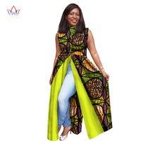 Plus Size dresses women traditional african fashion Clothing O-Neck Africa Wax Dashiki Slim Cut Sexy long dress 7xl WY1604