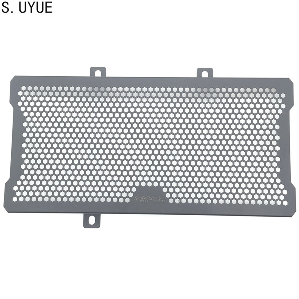 S.UYUE For Kawasaki ER6N ER-6N 2012 2013 2014 2015 2016 Motorcycle Accessories Radiator Grille Guard Cover Protector radiator protective cover grill guard grille protector for kawasaki versys 1000 2012 2013 2014 2015 2016