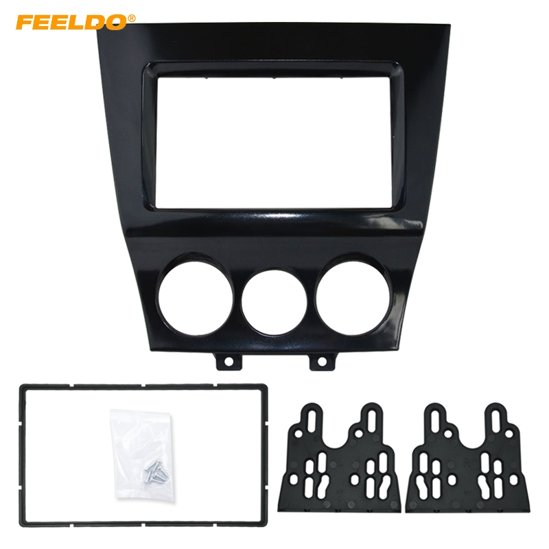 FEELDO Car DVD/CD Radio Stereo Fascia Panel Frame Adaptor Fitting Kit For Mazda RX8 #FD4744 feeldo car dvd cd radio stereo fascia panel frame adaptor fitting kit for mazda rx8 am4744
