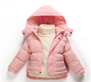 Подробнее о 15 new arrival brand Winter Children Girls Jackets Brand Hooded Kids Baby Girls Clothing Outerwear For 1-7 Years Boys Down Coat new 2017 baby boys children outerwear coat fashion kids jackets for boy girls winter jacket warm hooded children clothing