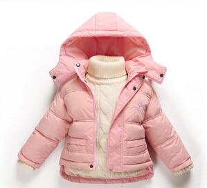 15 nových příchozích značek zimní dětské dívčí bundy - Dětské oblečení