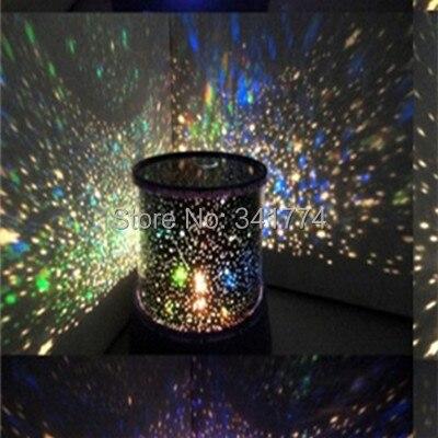 Новые детали новизны LED лампа проектора звездного неба Ночные светильники Star Master подарки для детей прикроватной тумбочке День рождения укр...