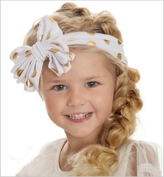 kids kids girl hair bow bands turban headband headbands accessories for  girls elastic hair head band hairband ornaments headwear-in Hair  Accessories from ... ec0ee1cdaa7
