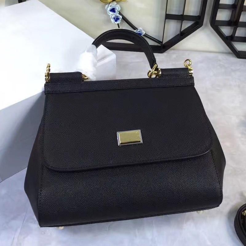 2017 Summer New Genuine Leather Luxury Handbags Women Bag Designer Famous Drands Sale Famous Small Shoulder Crossbody Bags
