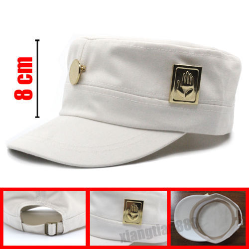 JOJOS BIZARRE เข็มกลัด 2 ชิ้น/เซ็ต Pin Kujo Jotaro หมวก Badge ครอบครัวเด็ก Blessing ของขวัญเพื่อนบุคลิกภาพเครื่องประดับ