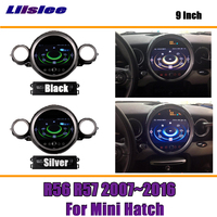 Liislee 9 Inch Android Car For Mini Hatch R56 R57 2007~2016 With Ambient Light Stereo Screen GPS NAVI Map Navigation Multimedia