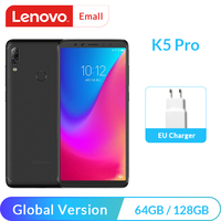 Lenovo K5 Pro 4GB 64GB Global Version Snapdragon 636 Octa Core Smartphone 5.99″ Screen Android phones Big battery Fast Charge Lenovo Phones