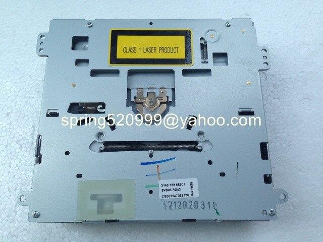 Máxima RD43 SVS03 único mecanismo de CD para PEUGEOT 307 Citroen VW RCD300 + CD de coche sintonizador de radio de los sistemas