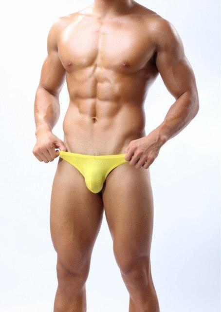 2df65eb2473 Wholesale 6pcs lot sexy gay men Bikini underwear mens brand cueca brief  shorts Modal briefs calzoncillos hombre