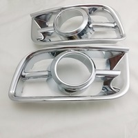ABS Chrome Fog Lamp Cover For Toyota Hiace 2008 2012 Trim Car Styling Cover Accessories