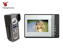 Yobang Security Video Door Phone 7″ Video Intercom Color Door Phone Night For Vision ,apartment System free shipping
