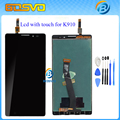 100% new for Lenovo K910 LCD Display + Touch Screen Panel Digitizer Assembly for VIBE Z Cell Phone free shipping + tools
