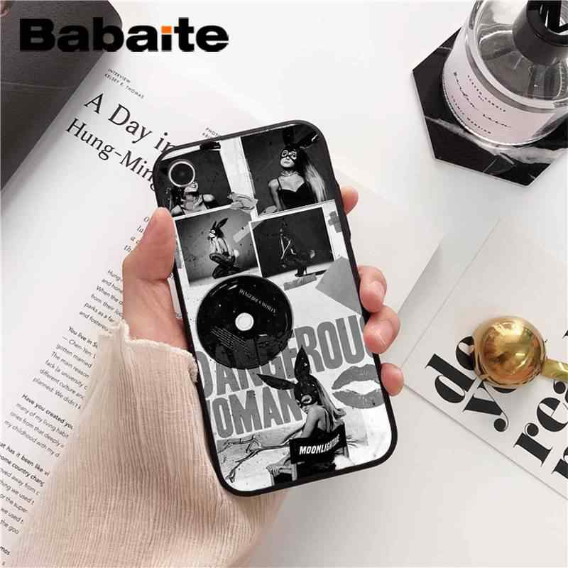 Babaite No Tears ซ้าย To Cry ariana grande โทรศัพท์สำหรับ iPhone 8 7 6 6S Plus X XS MAX 5 5S SE XR 10 11 11pro 11promax
