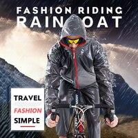 Quick Dry Bicycle Raincoat Waterproof Cycling Jackets Men Women Road MTB Mountain TPU Bike Rain Coats Cycling Poncho Clothing