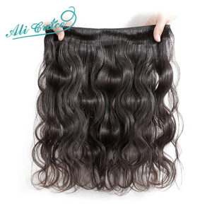 Image 4 - ALI GRACE Hair Brazilian Body Wave Hair 4 Bundles Human Hair Extention Remy Hair Natural Color 10 28 inch Free Shipping