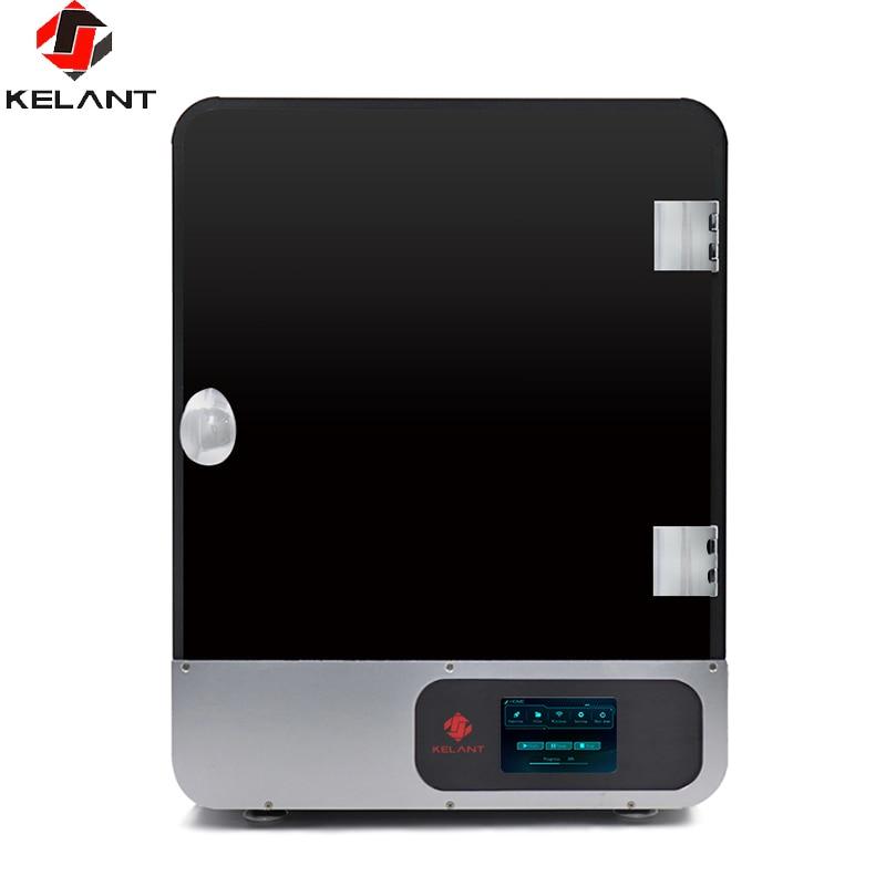 Kelant S400 8,9 zoll 2K laser 3D Drucker Photon UV Harz SLA Licht-Heilung 192*120*200MM DLP impresora 3d Drucker Kit LCD Montiert