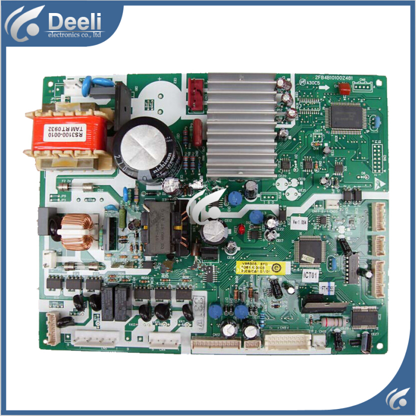 95% new good working for refrigerator board pc board motherboard 0061800008 bcd-331w bcd-301wd 95% new good working 100% tested for haier refrigerator motherboard pc board bcd 216st bcd 226sc bcd 226st original on sale