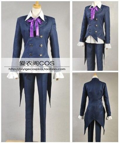 Pandora coeurs lion Baskerville Clan costumes tenue uniforme Anime Manga Cosplay Costume H028