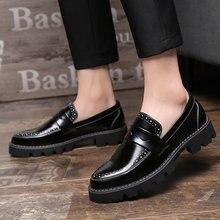 3c2af79d9 2018 Venda Quente Apontou Sapatos Formal Dos Homens Confortáveis  Preguiçosos Calçado Sapatos Sociais Masculinos Dos Homens Vesti.