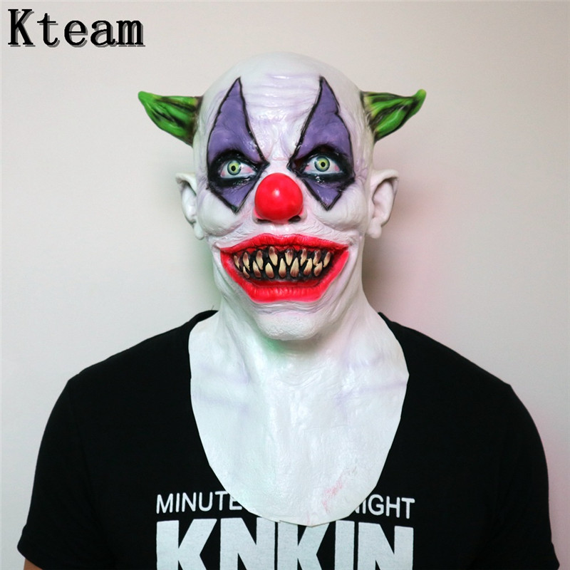Hot New Black Friday Deals Newest Arrivals faroot Stephen Kings It Mask Clown Mask Halloween Cosplay Costume Props Party Masks