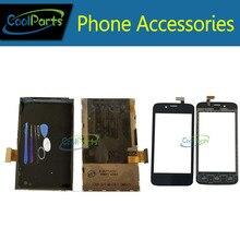 Купить онлайн 1 шт./лот Высокое качество для Fly IQ440 ЖК-дисплей Экран дисплея + Сенсорный экран планшета замену черный Цвет с инструментами