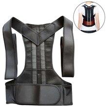 New Back Trainer Back Posture Corrector Shoulder Lumbar Brace Spine Support Belt Adjustable Adult Corset Posture Correction Belt