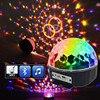 Led Magic Ball Light 9 Colors Rotating Strobe Bluetooth MP3 Stage Lights For Christmas KTV Xmas
