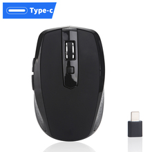 Type C Wireless Mouse 2.4GHZ USB For Macbook 12 Inch Pro 2016 2017 Chromebook More Devices