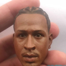 1/6 Basketball Star Philadelphia 76ers Iverson  Head Sculpt For 12in Male Body