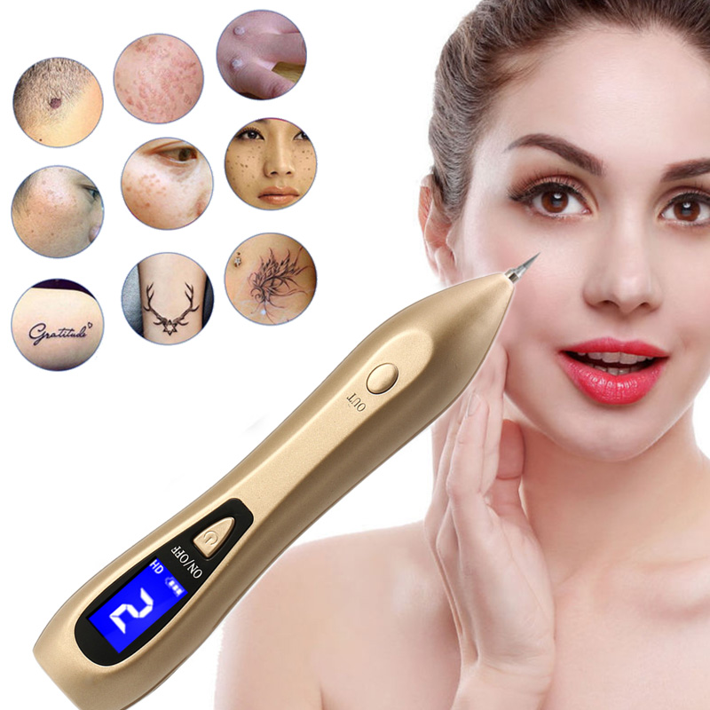 Laser Dark Spot Remover LCD Plasma Tattoo Wart Tag Mole Freckle Removal Point Pen 6 Level Facial Skin Care Machine Beauty Device непоседа 5 спальное холодное сердце олаф