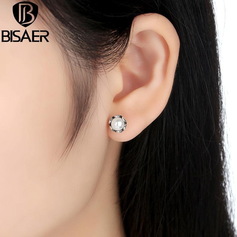 BISAER 925 стерлингови сребърни - Модни бижута - Снимка 2