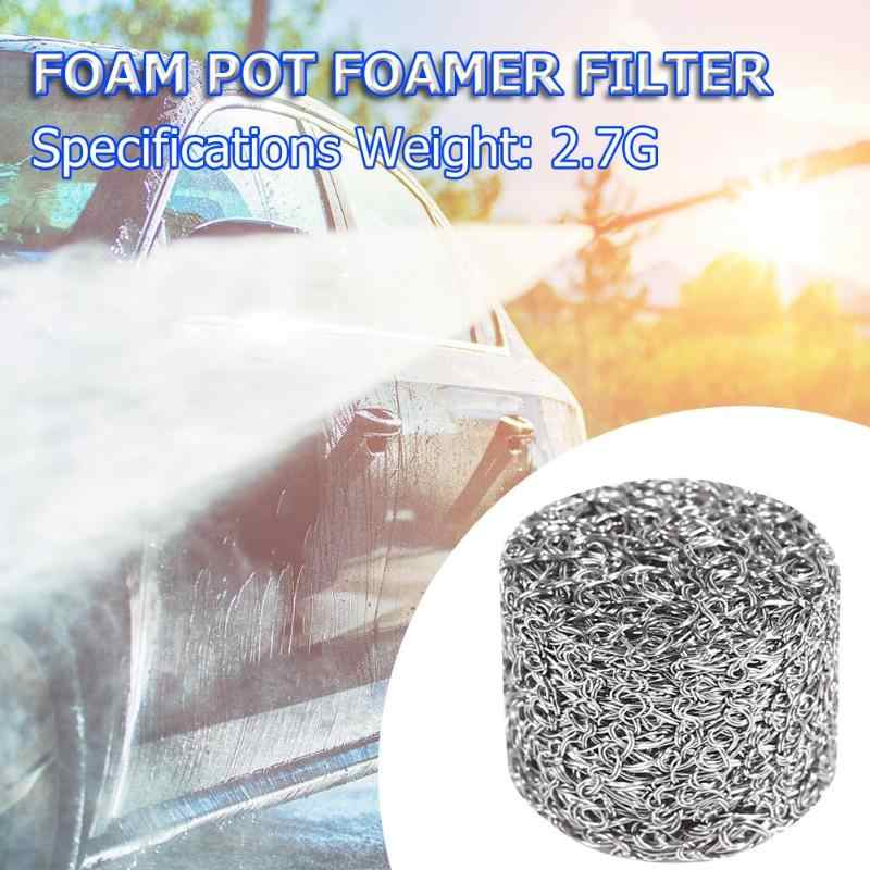 1Pcs High-pressure Bubble Pot Stainless Steel Foam Lance Filter Lance Mesh Tablet for Foam Generator for Car Washing Foam Guns